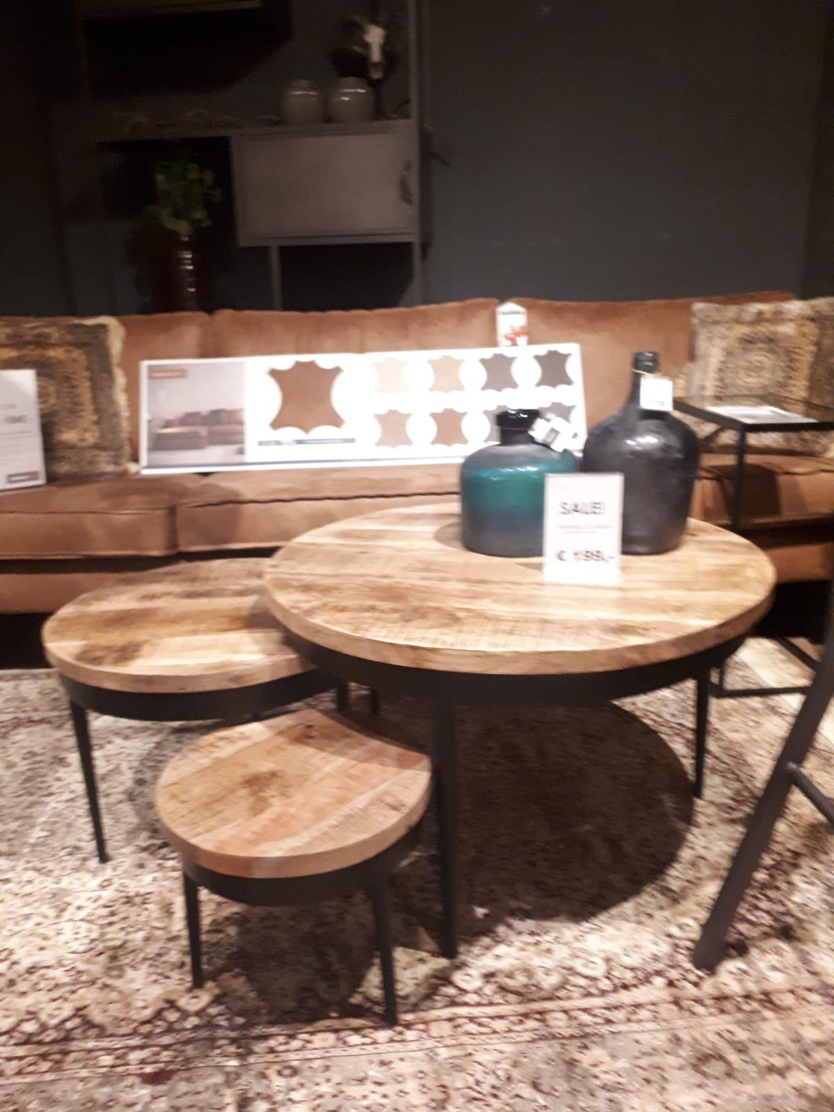 salontafels set van 3