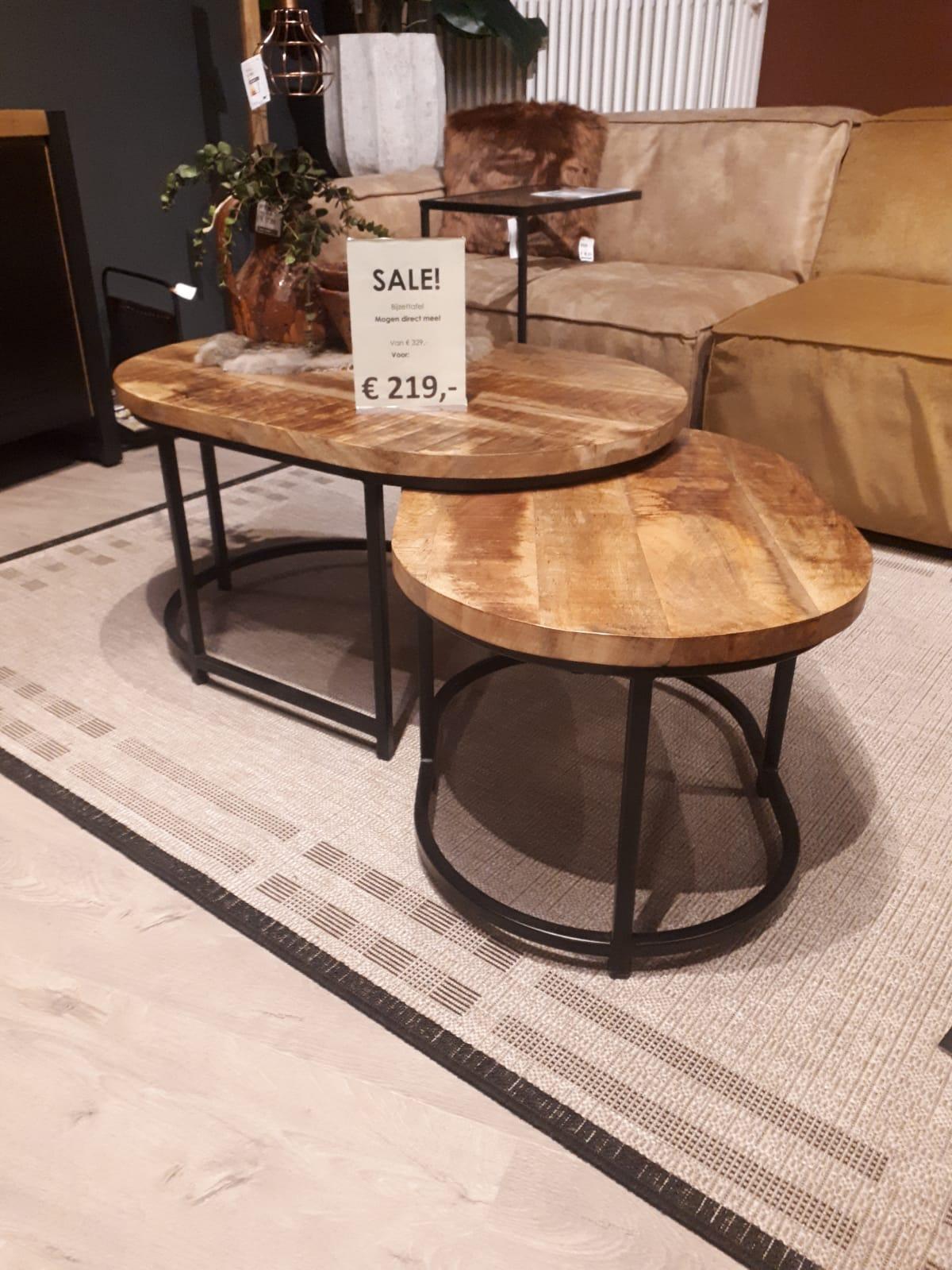salontafel set van 2