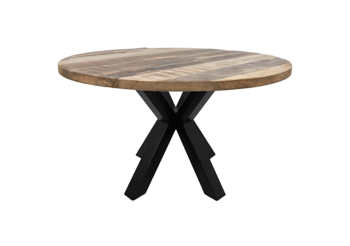 Ronde tafel spinpoot